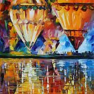BALLOON REFLECTIONS - LEONID AFREMOV by Leonid  Afremov