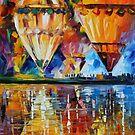BALLOON REFLECTIONS - LEONID AFREMOV by Leonid  Afremov