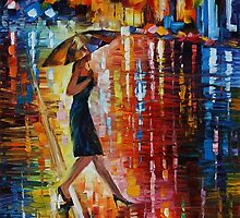 LATE RETURN - LEONID AFREMOV by Leonid  Afremov