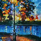 CHARM OF THE LONELINESS - LEONID AFREMOV by Leonid  Afremov