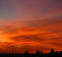 Musky Red Sunset (best viewed larger please) by Pbratt79