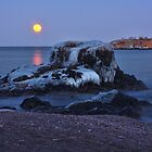Moon Over Superior by by M LaCroix