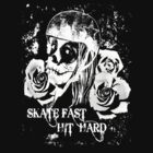Roller Derby - Skate Fast, Hit Hard by Monika Malkowska