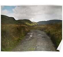 Blue Stack Mountain Road Poster