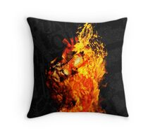 I Will Burn You Throw Pillow