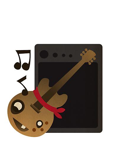 Happy Guitar by acifuentes