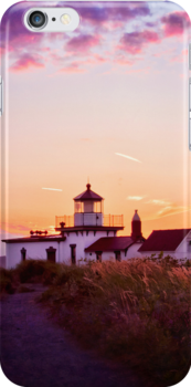 Discovery Park Lighthouse by SylviaCook