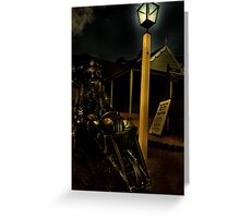 The Miner Greeting Card
