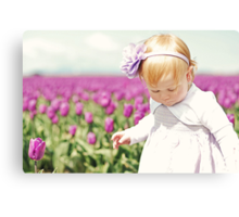 Endless Tulips Canvas Print