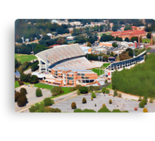 Death Valley at 700' - Clemson University Canvas Print