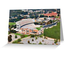 Death Valley at 700' - Clemson University Greeting Card