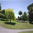 Flower Clock and Lawns, Hobart Botanical Gardens by Derwent-01