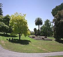 Flower Clock and Lawns, Hobart Botanical Gardens by Derwent-01