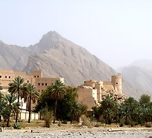 Deep in the Omani Mountains by DeborahDinah