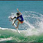 Surfer  1 by John Van-Den-Broeke