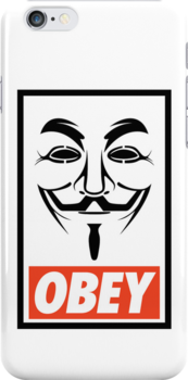 OBEY Anonymous by Royal Bros Art