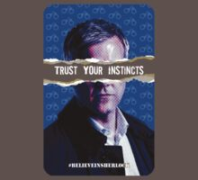 Trust Your Instincts - T-shirt by thatjessjohnson