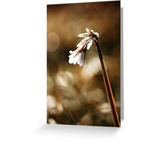 White bell Greeting Card