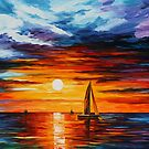 TOUCH OF HORIZON - LEONID AFREMOV by Leonid  Afremov