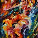 MAGIC FLAMENCO - LEONID AFREMOV by Leonid  Afremov