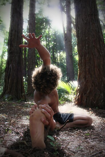 Forest Yoga by KateMatheson