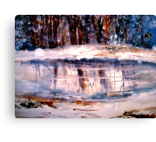 That Winter Day Canvas Print