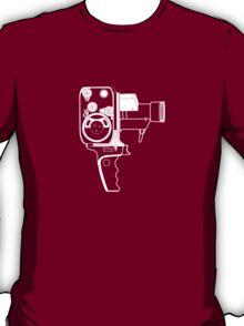 8mm Camera - Bolex - White Line Art T-Shirt