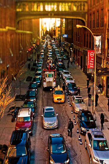 City Life - 15th Street from the Highline by Chris Lord
