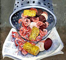 Shrimp Boil by Elaine Hodges