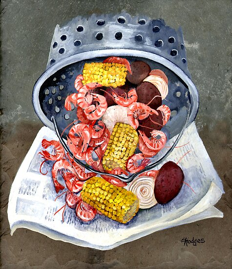 Shrimp Boil by Elaine Hodges