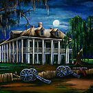 Moonlit Plantation by Elaine Hodges