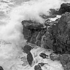 Rocks at Tacking Point by TonyCrehan