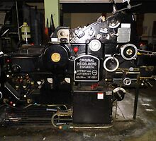 Printing Press by WildestArt