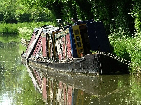 The stories she could tell ! Northern Union Canal, UK by Roy  Massicks