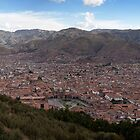 View over Cusco from Sacsayhuaman by parischris