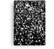 The Endless Crowd on an Iron Maiden Concert in Belgrade Canvas Print