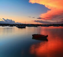 Floating Sunset by Arfan Habib