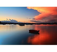 Floating Sunset Photographic Print