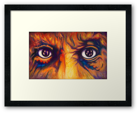 Eyes of Picasso by Mario Torero