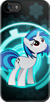 Vinyl Scratch Ipod Case by Totallyazn10