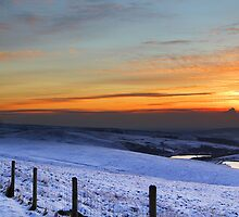 Sunset at Windy Hill by Alastair Wallace