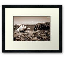 The Haven, Swona, Orkney Framed Print