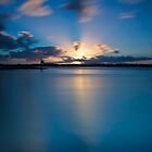 As The Sun Goes Down on Smiths Lake by bazcelt