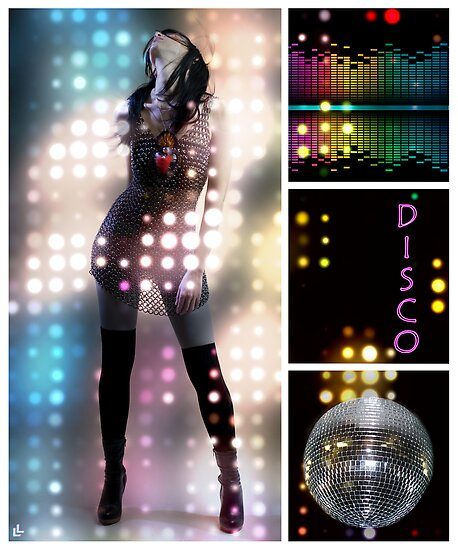 Dance series - Disco by Linda Lees