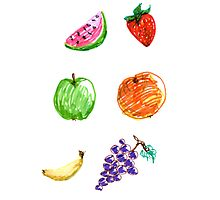 Fruity fun for everyone! Photographic Print