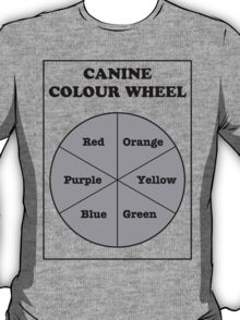Canine Colour Wheel T-Shirt