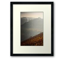 where there is smoke... Framed Print