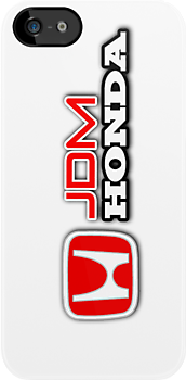Honda JDM T-Shirt, iPhone Case, Samsung Galaxy Case, iPod Case, Hoodie, or Sticker by Kris Graves