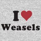 I love Weasels! by erndub