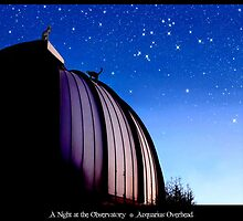 A Night at the Observatory * Acquarius Overhead by Kathleen Horner